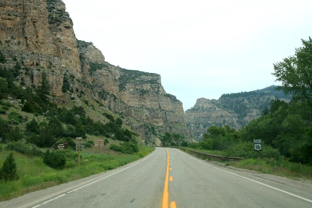 Entering 'Ten Sleeps' Canyon (With images) Wyoming