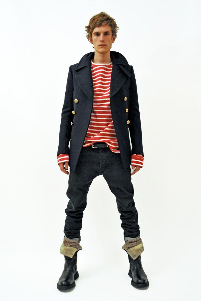 Balmain | Fall 2011 Menswear Collection | Style.com