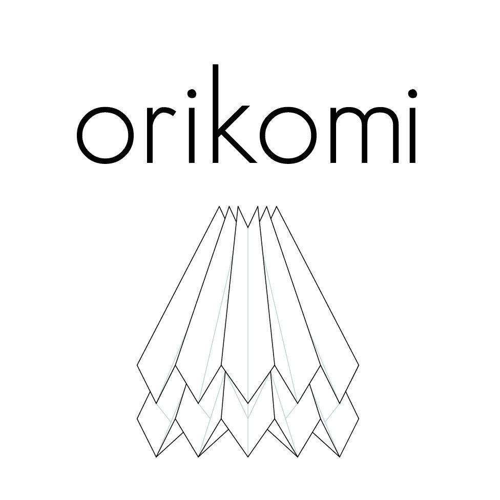 Simply crafted origami lighting made by blaanc. Find out more at www.orikomi.pt  A portion of the sales profits revert towards the Adobe for Women