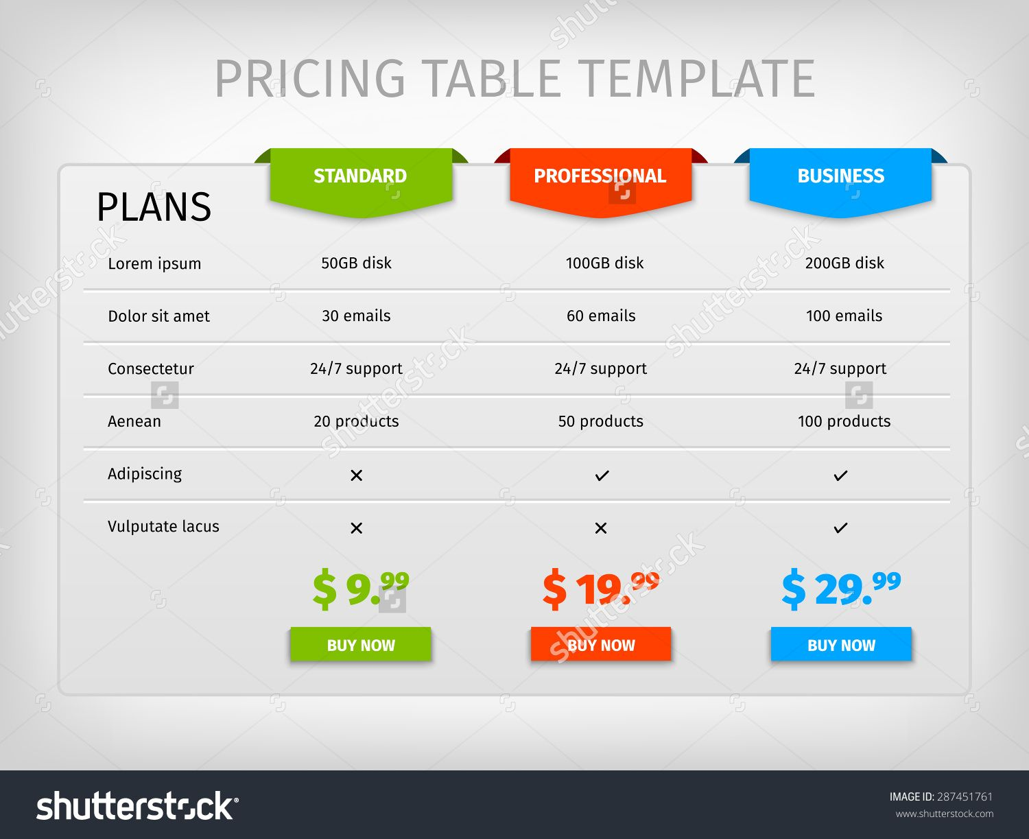 Comparison Table Template  Google Search  Matrix Ui