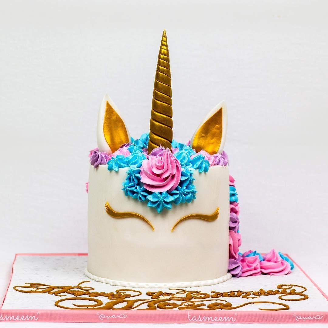 يمكنكم طلب كيكات تصميم عن طريق الموقع الإلكتروني الرابط في البايو او عن طريق الواتس اب على الرقم او من خلال زيارة احد فرو Unicorn Cake Cake Birthday Candles