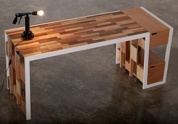Recycled Wooden Furniture Office Desk Sideboard Bookcase