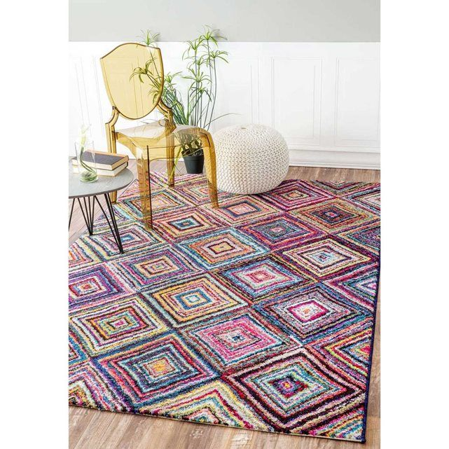 Un amour de tapis tapis moderne carre boutik tapis Tapis salon carre