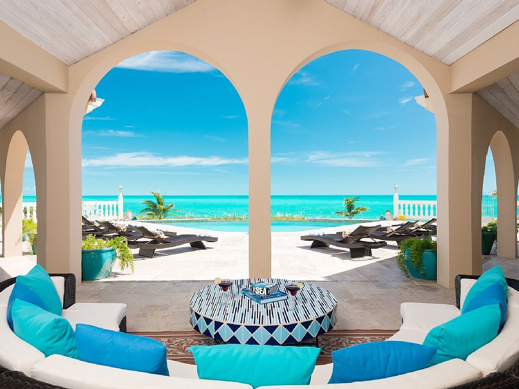 Best Kitchen Gallery: Vrbo 615526 Beach Front Luxury Villa In Providenciales Provo of Turks And Caicos Villas On The Beach  on rachelxblog.com