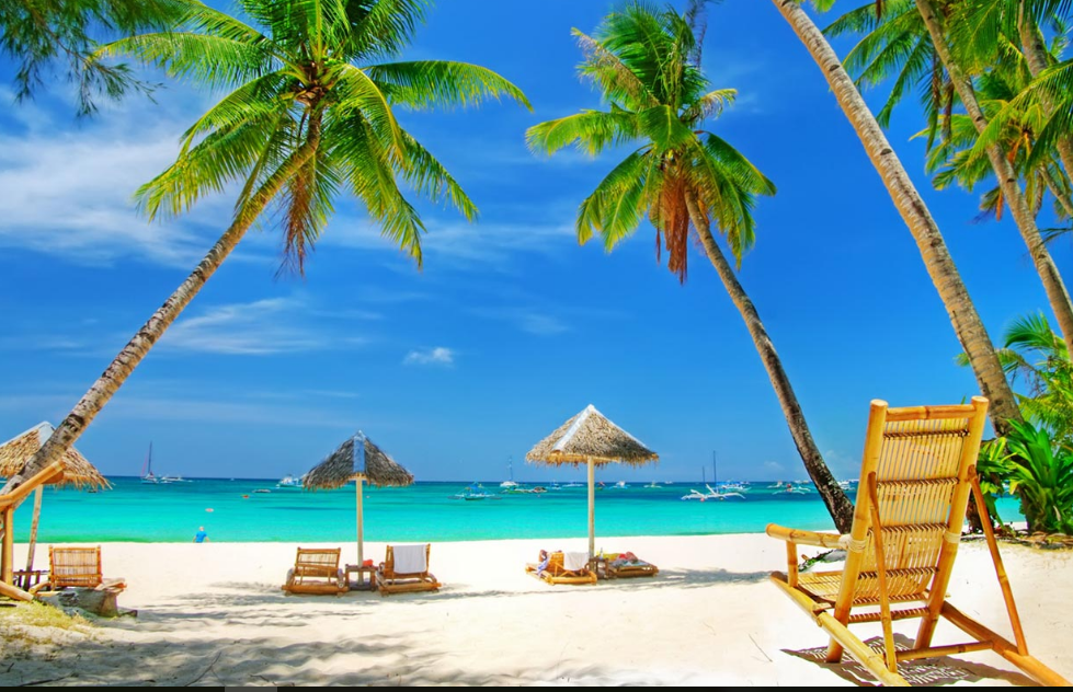 Computer Lounge Chair Teal Desk Beautiful Beach Wallpaper   Hd Wallpapers Wallpaper, Beach, Beaches