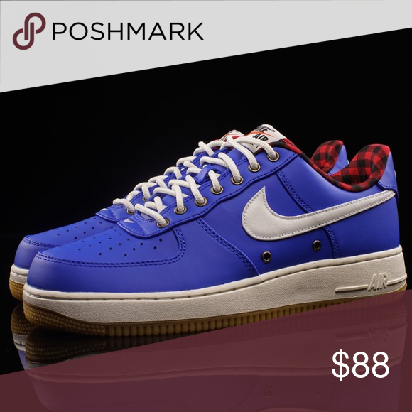 Nike Air Force 1 07 LV8 Lumberjack Hyper Cobalt Nike Air