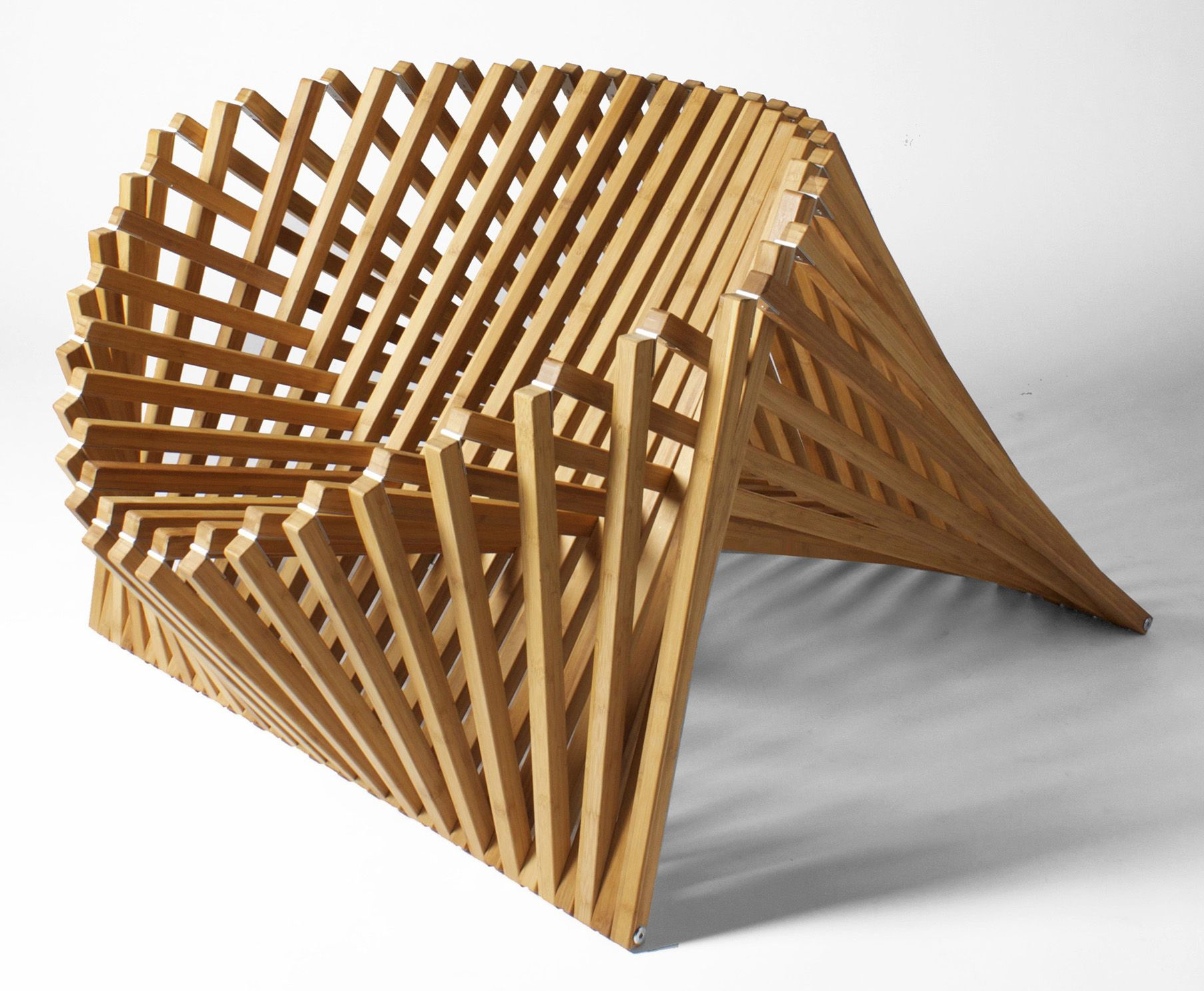 Intricate Yet Functional, The Rising Chair Emphasizes The Natural Shape