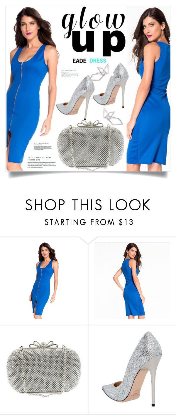 """Eade Dress 35"" by amra-mak ❤ liked on Polyvore featuring Jimmy Choo, W. Britt and eadedress"