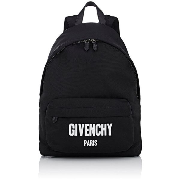 Givenchy Men's Classic Backpack ($1,430) ❤ liked on Polyvore featuring men's fashion, men's bags, men's backpacks, black, mens backpacks and mens leather backpack