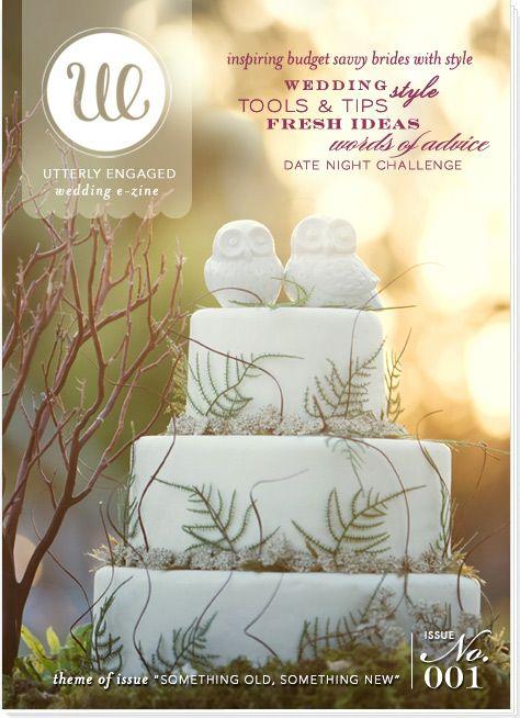 Issue #001 « Utterly Engaged } The 1st Online Wedding & Bridal Magazine. Inspiring Brides with Style.