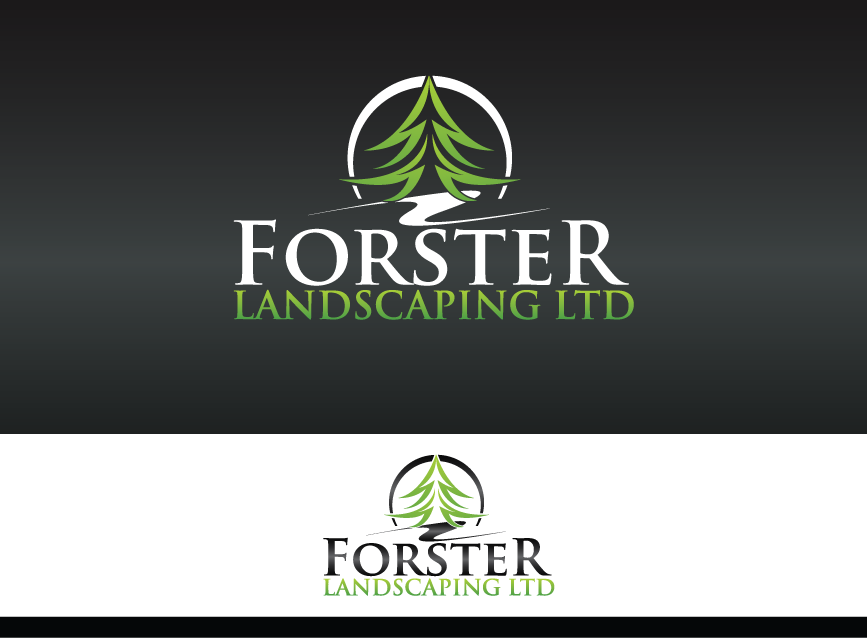 Awesome landscape company logo. This was designed by MycroBurst ...