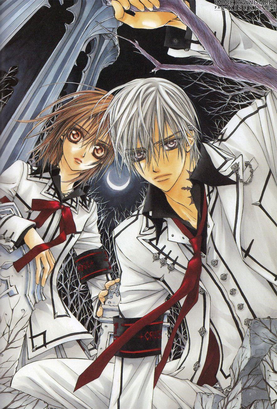 Yuki e Zero Vampire knight yuki, Vampire knight, Vampire