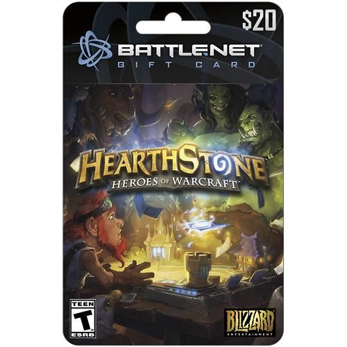 Blizzard - Hearthstone Gift Card ($20) - Multi - Larger Front ...
