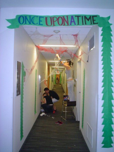 Decorating A Residence Hall To The Theme Of Quot Once Upon A