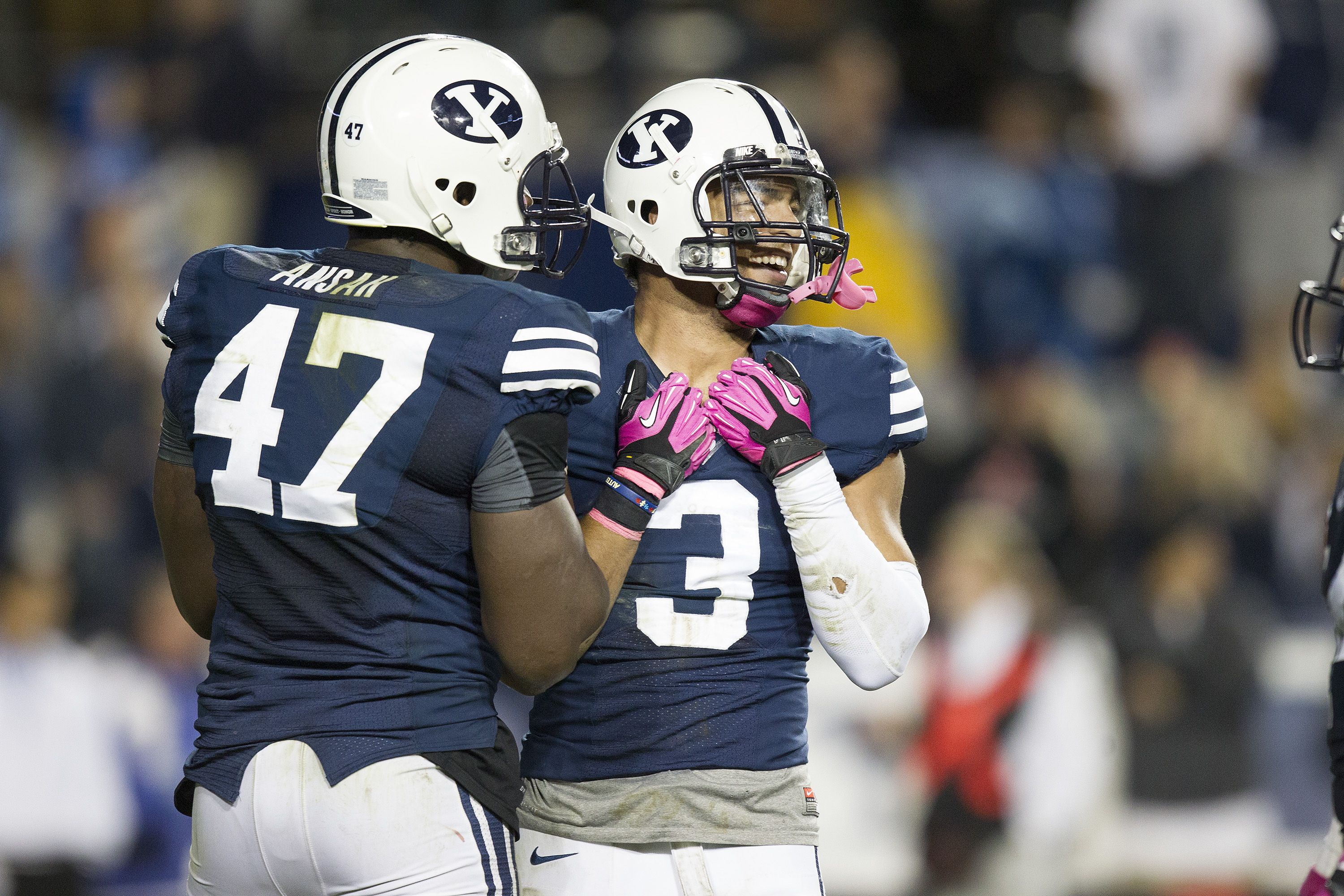 BYU football standouts Kyle Van Noy and Ziggy Ansah are good
