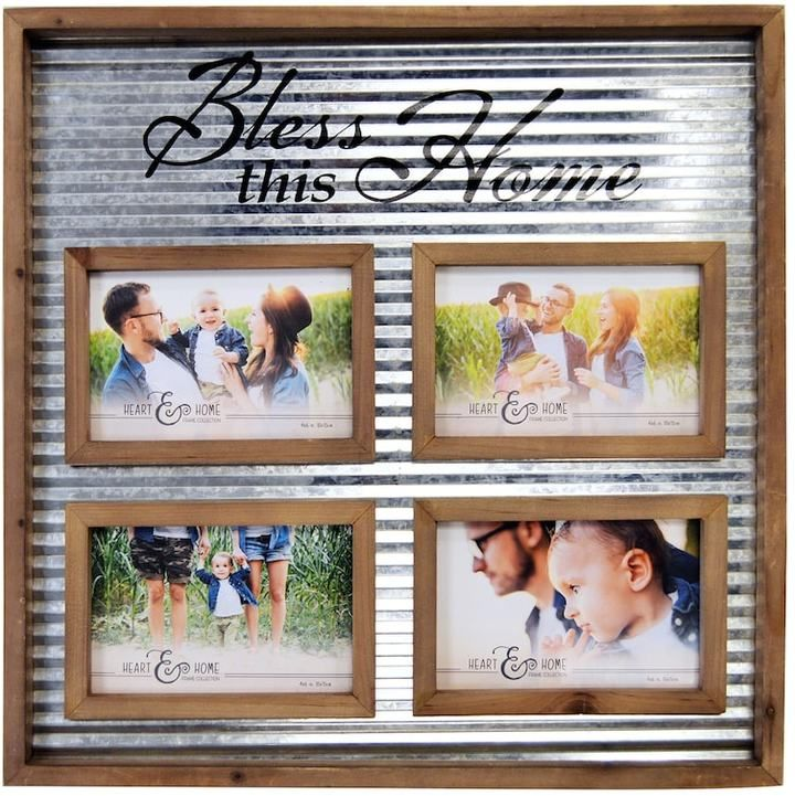 New View Home 4 Opening 4 X 6 Fashion Collage Frame Crafts