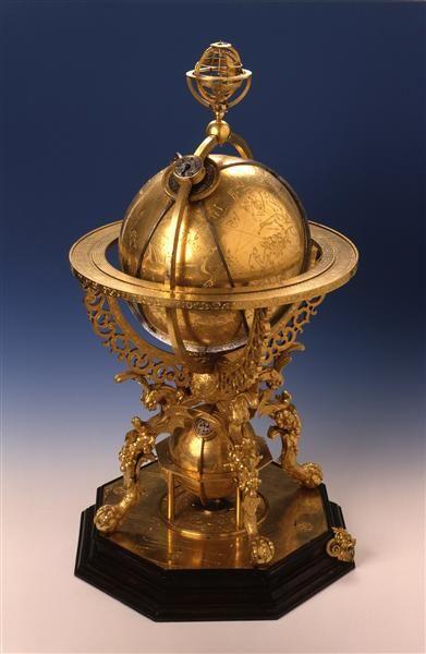 himmelsglobus reinhold johann ca 1550 1596 hersteller roll georg 1592 hersteller augsburg. Black Bedroom Furniture Sets. Home Design Ideas