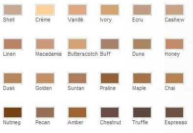 ecru color chart - Google Search