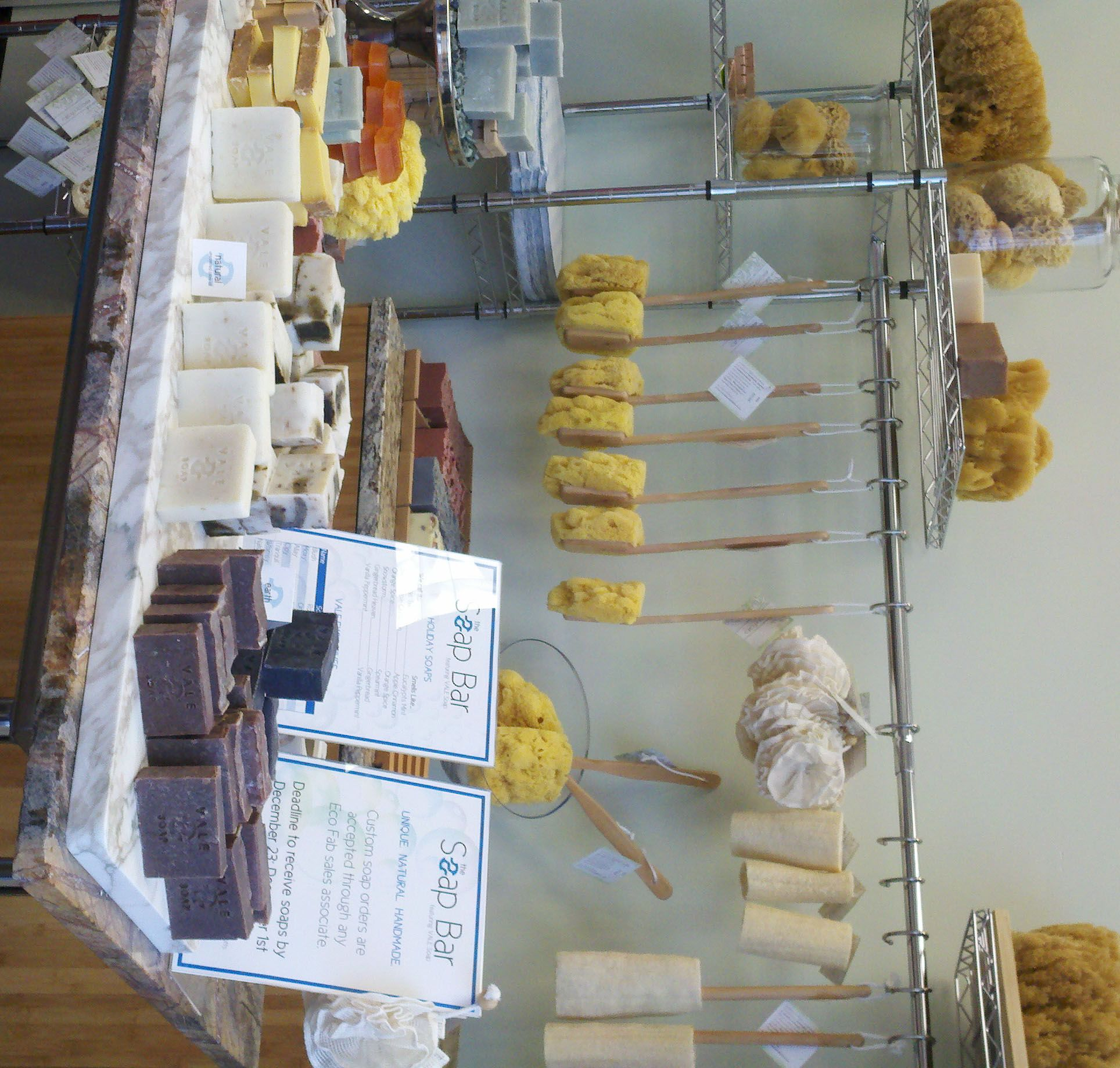 images of farmers market soap display - Google Search