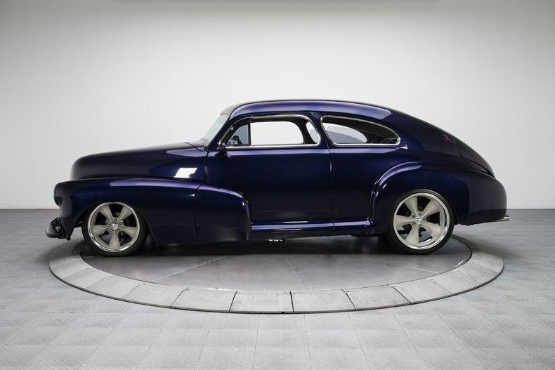 1948 Purple Chevrolet Fleetline Aerosedan Custom V8 Chevrolet Classic Cars Cool Cars