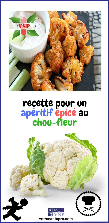 recette pour un apéritif épicé au chou-fleur - La santé naturellement | Chou fleur, Aliments ...