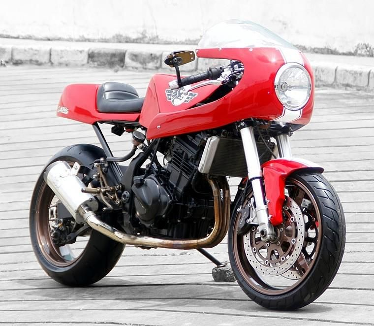 I Saw This Beautiful Modern Cafe Racer On The Australian Facebook Page And Just Had To Post It Based A Ninja 250 Id Say Donny Has Made