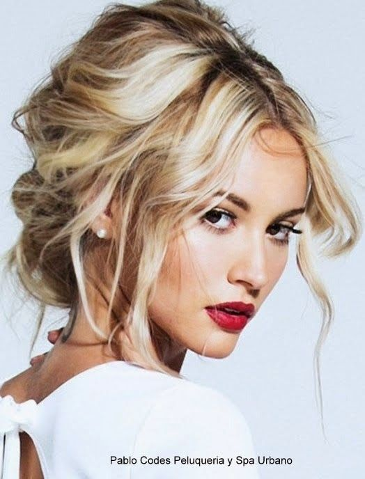 Peinados De 2015 Moda Pinterest Spanish Updos And Hair Models