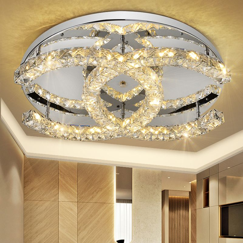 Coco Chanel Led Crystal Ceiling Light Lamps In 2020