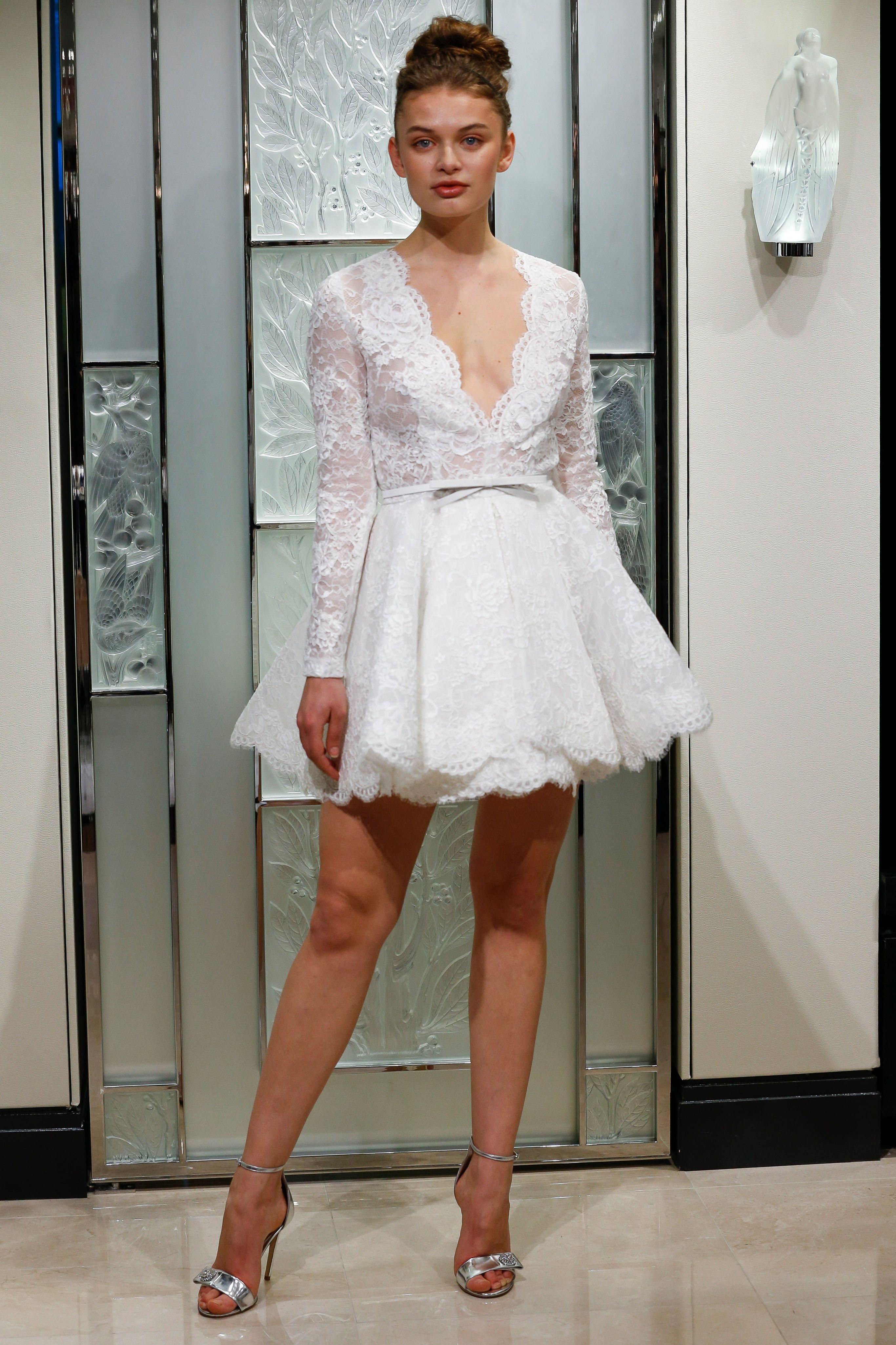 Chic Short Wedding Dresses Short Wedding Dress Dresses Wedding Dress Trends [ 4098 x 2732 Pixel ]