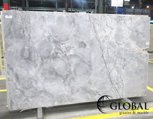 Super White Brazilian Arabescato Quartzite Slab Home