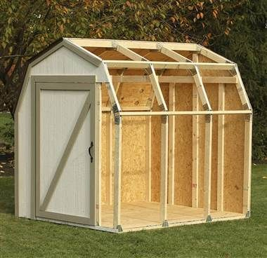 Diy Outdoor Storage Shed With Barn Roof Mit Bildern Lagerschuppen Schuppen Ideen Holzlagerschuppen