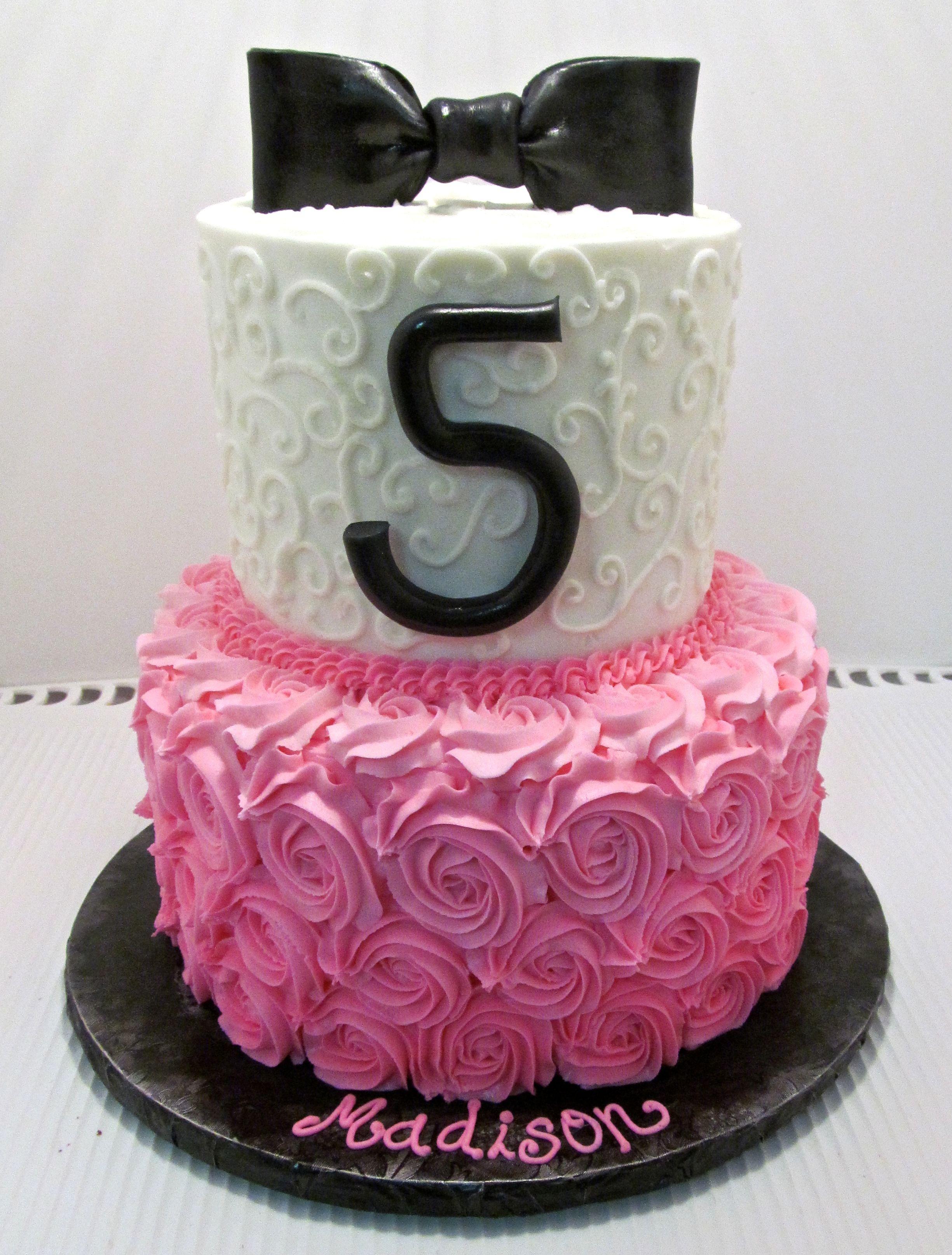 ... Little Girls Birthday Cake  Buttercream Cake  Milk & Honey Cakery