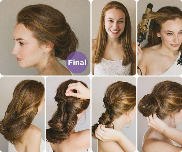 Brilliant The 15 Best Elegant Hairstyle Tutorials Twists Elegant Wedding Short Hairstyles For Black Women Fulllsitofus