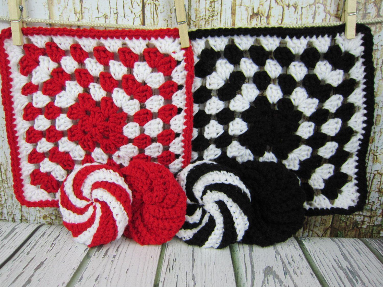 Kitchen hot pad kitchen spiral scrubbie red black white crochet kitchen hot pad kitchen spiral scrubbie red black white crochet kitchen items bankloansurffo Gallery