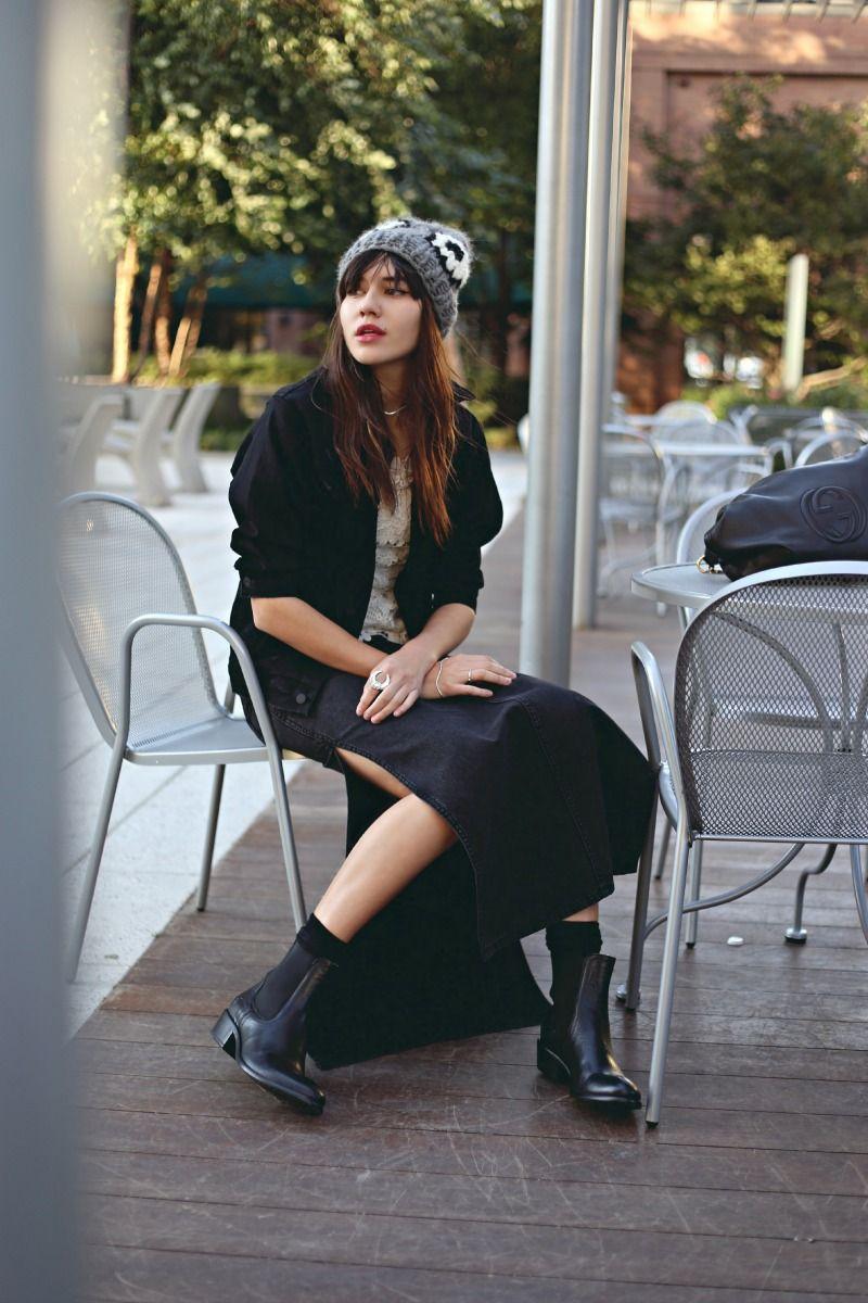 mother denim jacket h m top cheap monday denim skirt. Black Bedroom Furniture Sets. Home Design Ideas