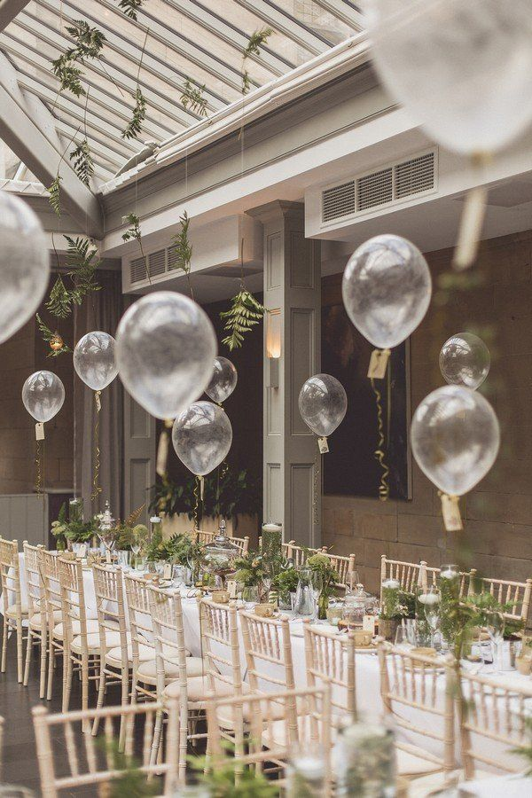 16 Romantic Wedding Decoration Ideas With Balloons Wedding