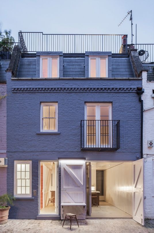St Luke's Mews house, London by Jonathan Tuckey Design | Technical |  Building Design