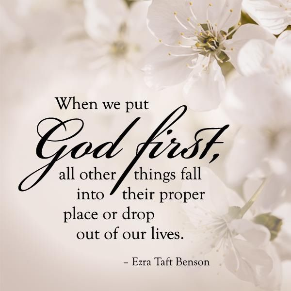 "How Do You Put Quotes On Pictures: ""When We Put God First [and In The Forefront Of Everything"