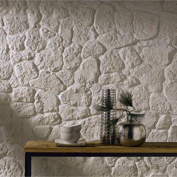 Plaquette de parement Luberon en plâtre, beige Mur en pierre