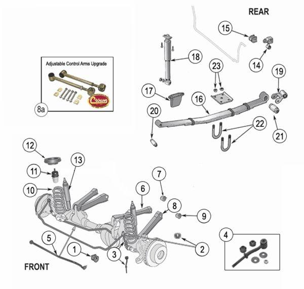 suspension diagram jeep 4j8y6jeepliberty