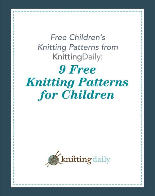 Enjoy knitting for children with this collection of great kid and toddler knitting patterns.