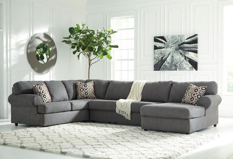 Verona  New Large Modern Gray Microfiber Living Room Sofa Couch Fair Living Room Sofa Set Designs Design Ideas