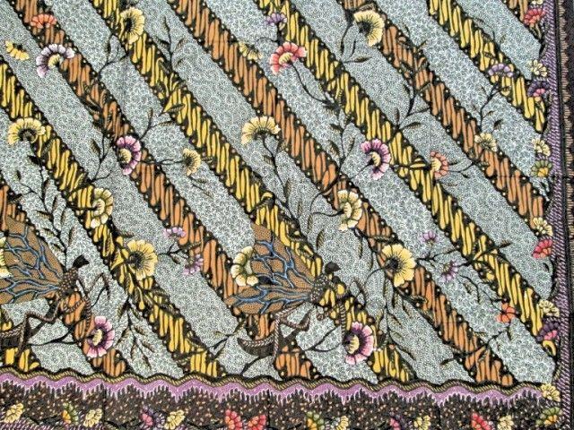 Kain Batik Tulis Jawa Hokokai Parang Gelep  Batik  Pinterest