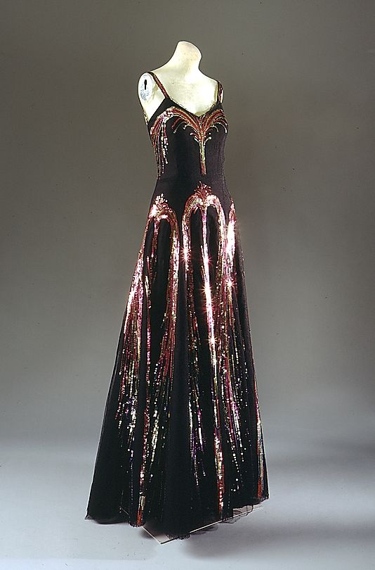 Evening Ensemble, House of Chanel, Designer Coco Chanel, F ...