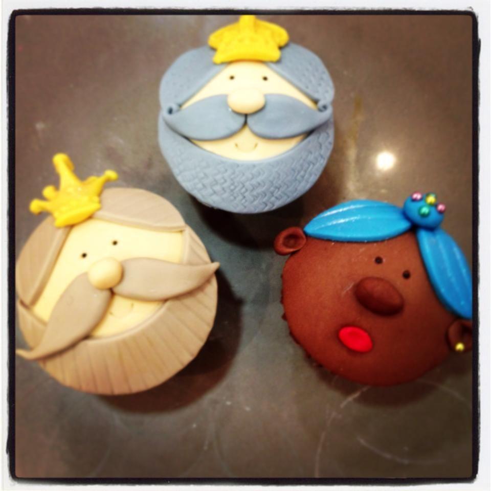 Reyes magos de objetivo cupcake perfecto pasteles y for Decoracion para reyes