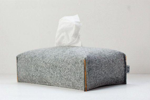 Ongekend Weefsel vak cover rechthoekig, stof Tissue Box houder, vilt BQ-04