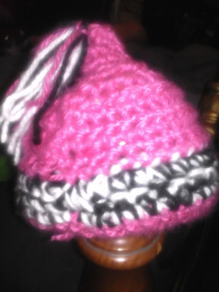 pixie style hat for 6-9 months old..