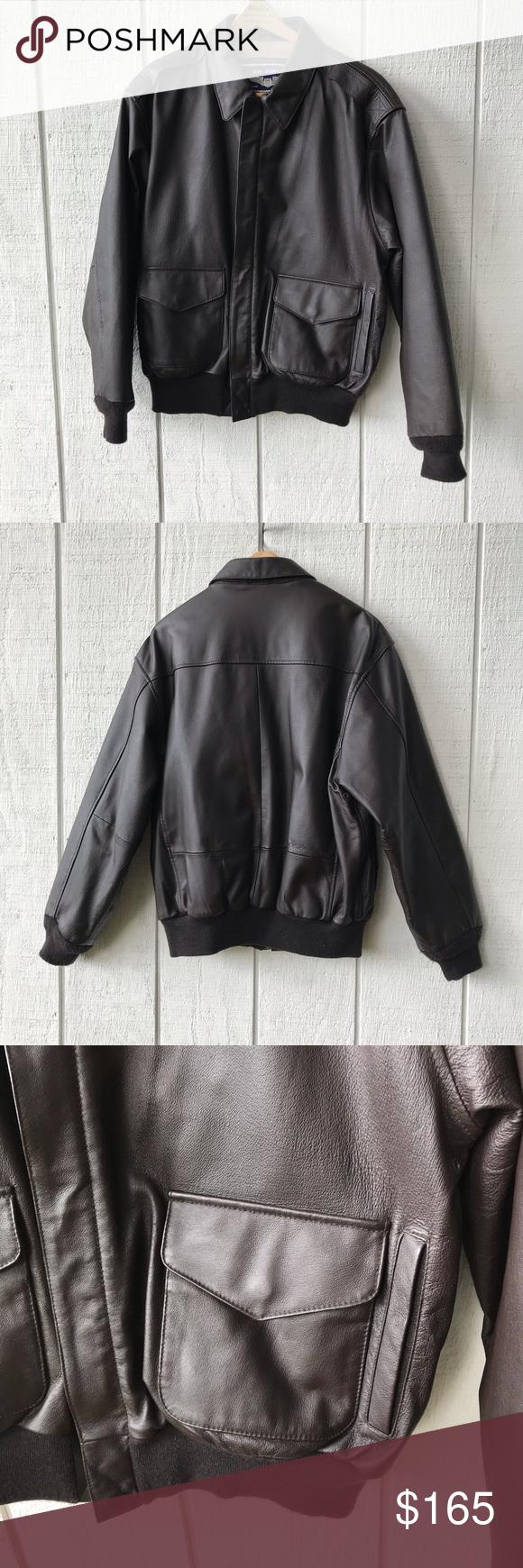 Sale Air Force Airborne Leather Jacket M Leather Jacket 1940s Fashion Fashion [ 1740 x 580 Pixel ]