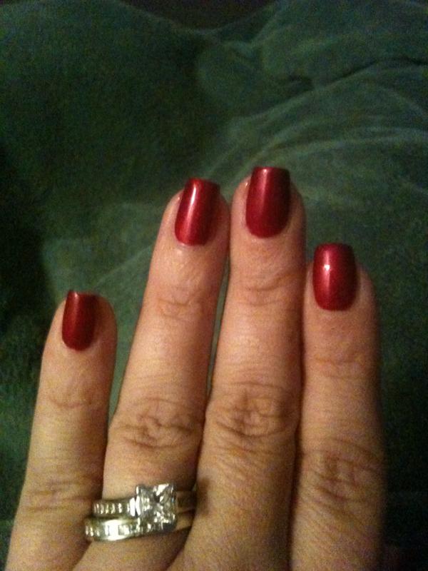 Shellac Red Baroness | Shellac | Pinterest | Shellac, Cnd ...