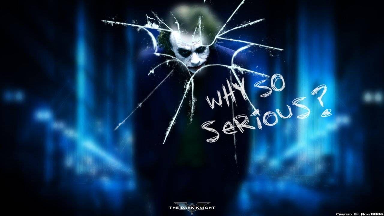 Joker Why So Serious Wallpaper Mobile Is Cool Wallpapers Dark Knight Joker Costume Joker Pics Why So Serious